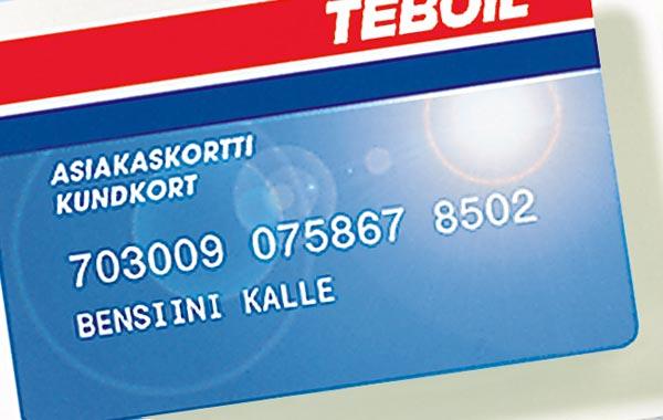 Teboil-kortti